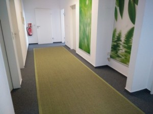 Sisalteppich nach Maß (Astra Manaus grün)